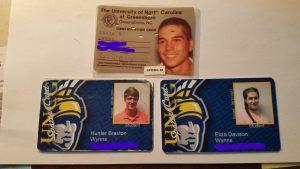 Wynns Family Alumni Bryan School IDs