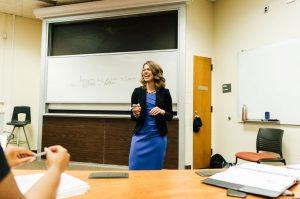 Bryan School Accounting lecturer Amanda Cromartie